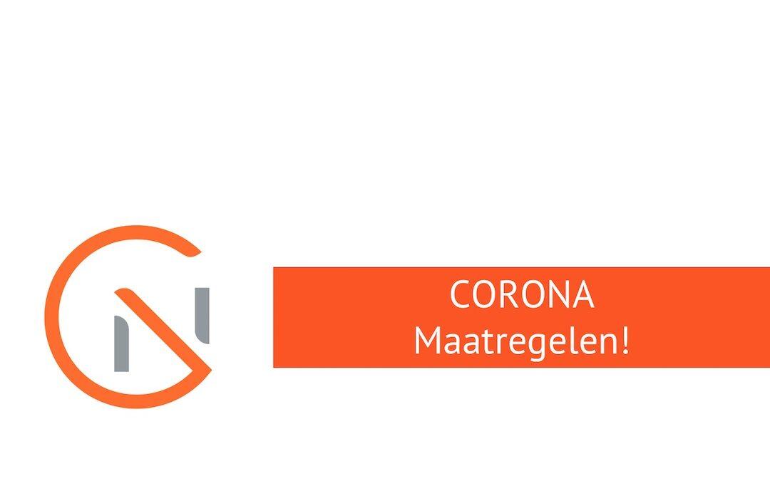 Corona maatregelen Notariskantoor Goossens
