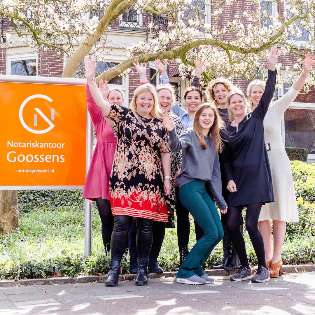 10 jaar Notaris Goossens!